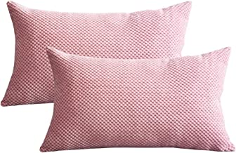Amazon.co.uk: Pink Cushion Covers Cushions & Accessories