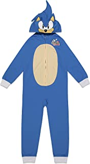 Sonic the Hedgehog 4-12 Years Old Children/'s Kid Jumpsuit Cosplay Costume Prop