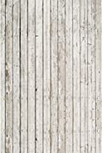KonPon 3x5ft Grey Wood Backdrop for Photography Wooden Planks Backgrounds Woods Photo Props Background KP-080