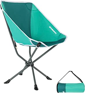 FUNDANGO Outdoor Ultralight Portable Folding Chairs with Carry Bag Heavy Duty 264 lbs Camping Hiking Backpack Chairs