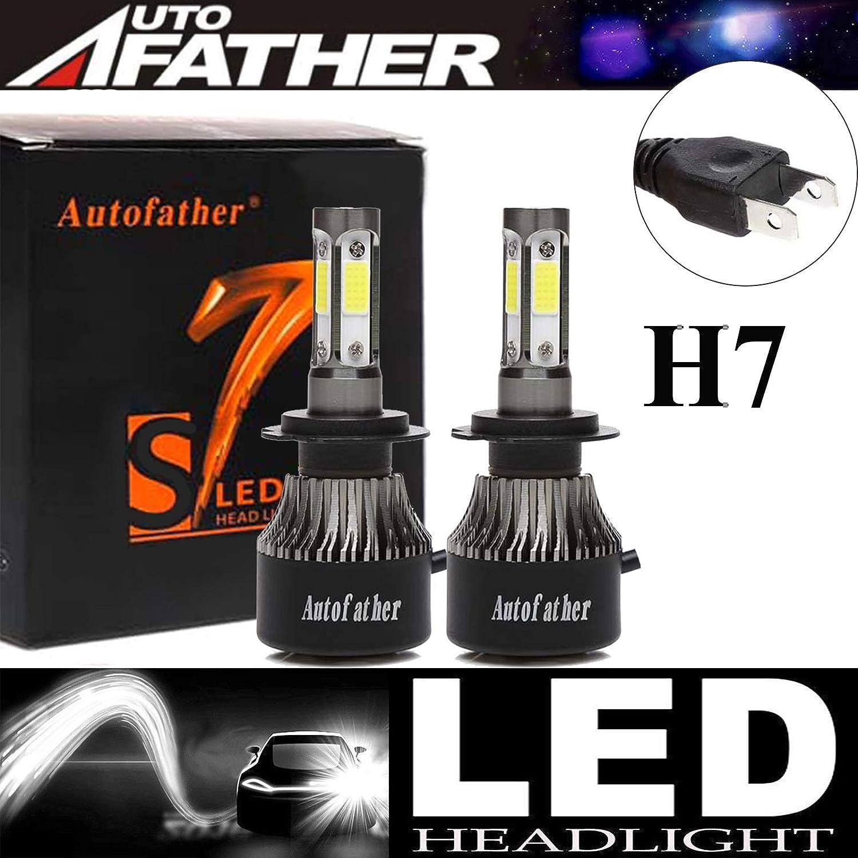 Details about  /4PCS Mini H7 H7 Combo COB LED Healight Bulbs High Low Beam 3200W 520000LM 6000K