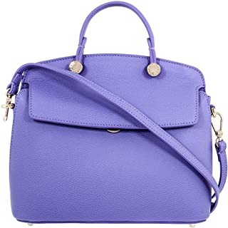 Furla My Piper Ladies Small Purple Lavanda Leather Shoulder Bag 977730