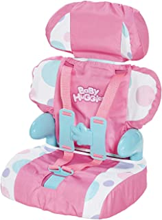 Casdon 710 Doll Car Booster Seat - Bring Your Favorite Friend for a Ride!,Pink/Purple