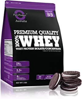 Pure Product Australia Whey Protein Isolate and Concentrate, Cookies 5 kilograms