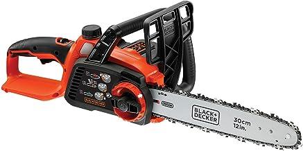 BLACK+DECKER GKC3630LB-XJ 36 V Lithium-Ion Chainsaw, Bare Unit, 30 cm (Battery not Included), 550 W, Orange