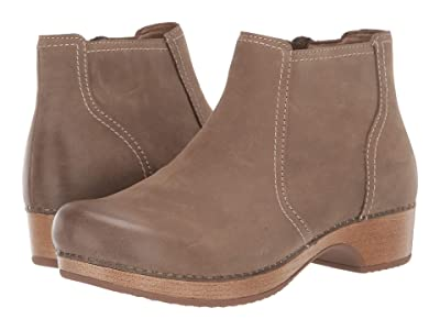 Dansko Barbara (Taupe Burnished Nubuck) Women