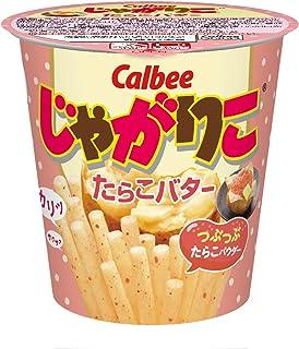 Calbee Jagariko Spicy cod roe butter flavor 52g × 12 cupss [Japan Import]