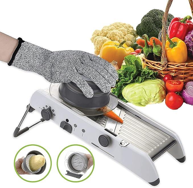16 opinioni per Mandolino da cucina multifunzionale TASTY HEALTH- Questo tagliaverdure di
