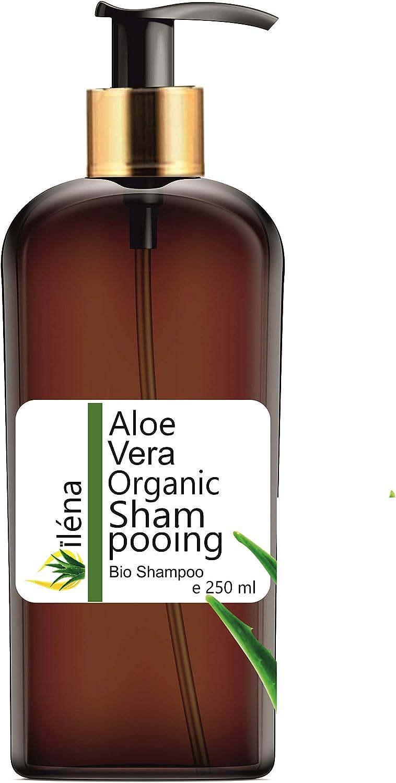 Champú Natural y Ecológico con Aloe Vera, Aceite de Argán, Vitaminas y Queratina, con Ceramidas Naturales para el Cabello. Para pelo dañado y seco. ...