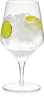 Libbey Signature Greenwich Goblet Beverage Glasses, Set of 4
