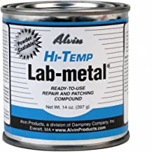 Alvin 14 oz Lab Metal Hi Temp Repair and Patching Compound Withstands Temps Up to 1000F