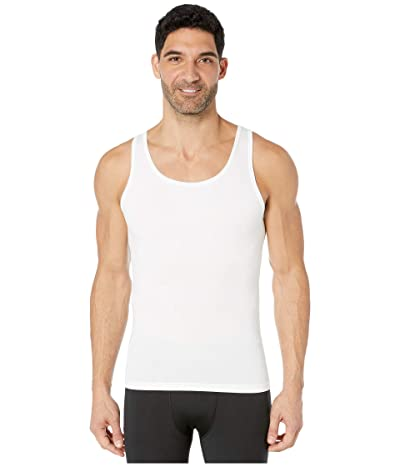 Spanx for Men Cotton Compression Tank (White) Men