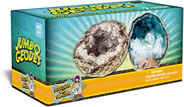 Discover with Dr. Cool Break Open 2 Jumbo Geodes!