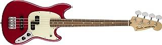 Fender Mustang PJ Bass - Pau Ferro Fingerboard, Torino Red