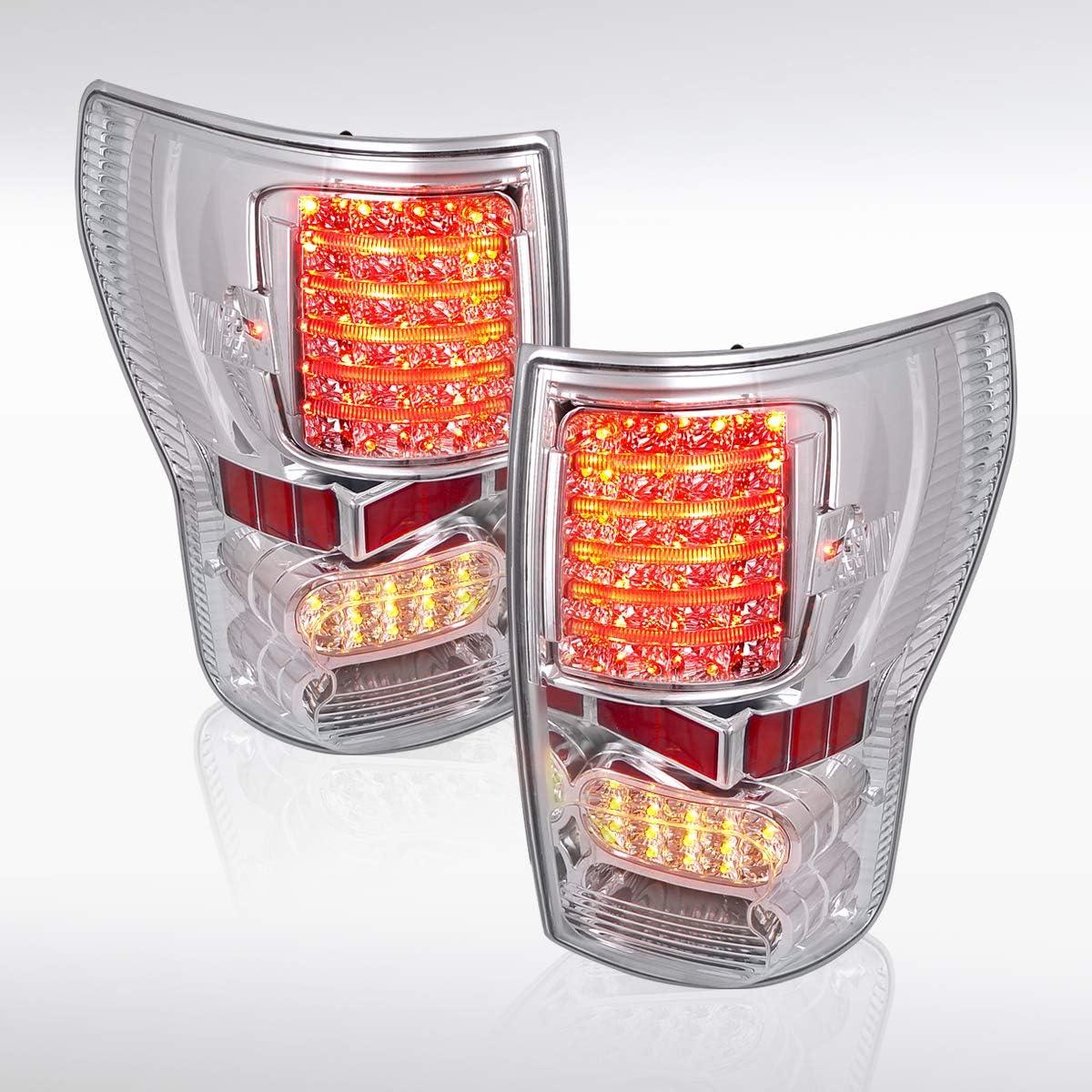 Autozensation 即納送料無料 for 優先配送 2007-2013 Toyota Tundra Rear LED Ta Full Clear