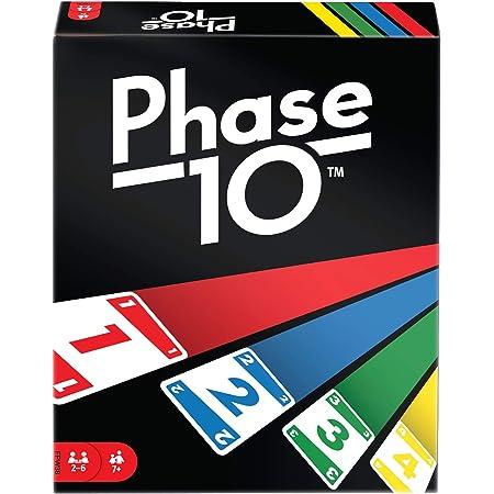 Mattel Games FPW38 - Phase 10 Kartenspiel, ab 7 Jahren