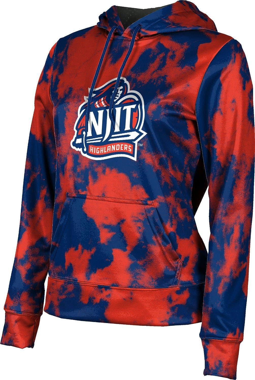 ProSphere New Jersey Institute of Technology Girls' Pullover Hoodie, School Spirit Sweatshirt (Grunge)