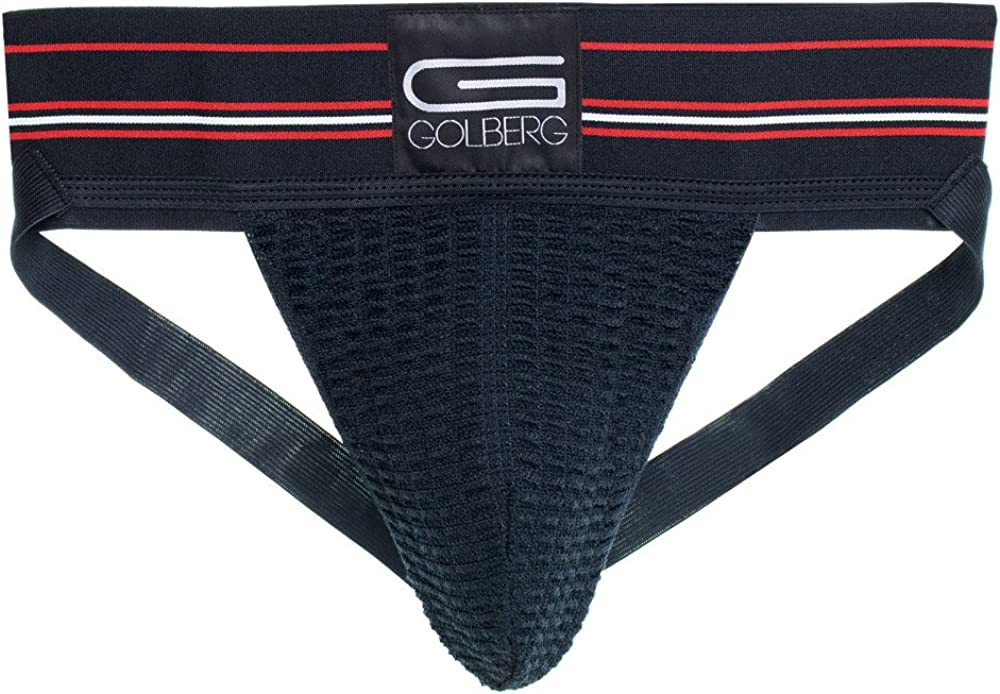 3 Pack Extra Strength Elastic GOLBERG G Men/'s Athletic Supporters - Jock Strap Underwear