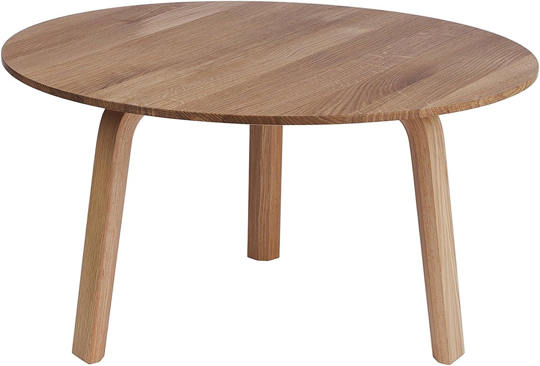 HAY - Bella Coffee Table -  60 x H 32 cm - Eiche Natur - Design - Beistelltisch - Couchtisch - Sofatisch