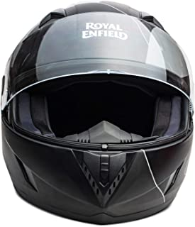 Royal Enfield Camo Grey Full Face With Visor Helmet Size (M)58 CM (RRGHEK000010)