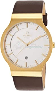 Obaku Ultra Slim men's watch model V133XGIRN