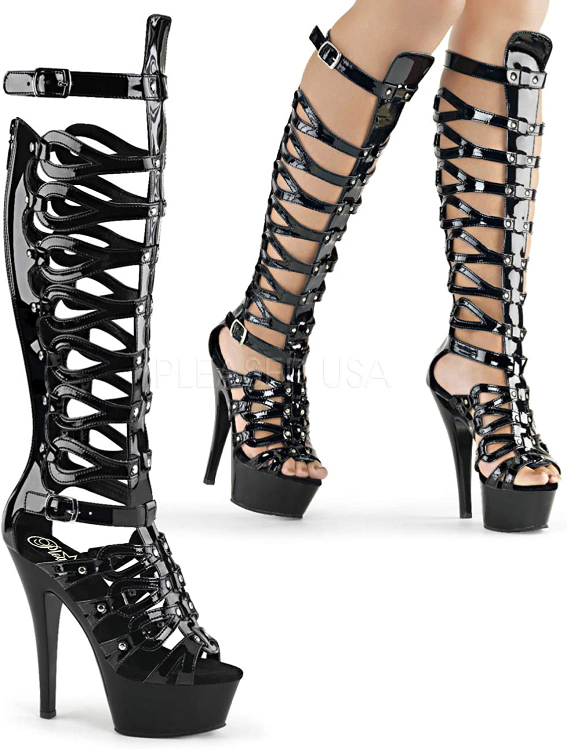 Pleaser Women's Kiss 200-48 Boot