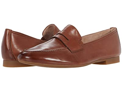 Paul Green Bonnie Flat (Nougat Leather) Women