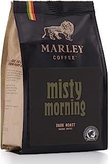Misty Morning de Marley Coffee, café molido, tostado oscuro, de la familia de Bob Marley, 227g