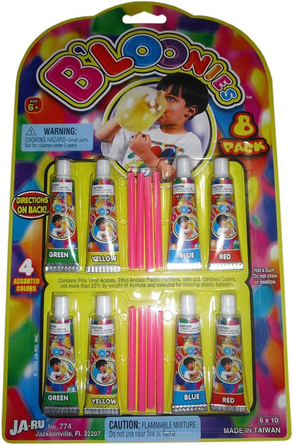 con 60% de descuento B'loonies Plastic Balloons Variety Variety Variety Pack, 8 Tubes of Assorted Colors  comprar descuentos