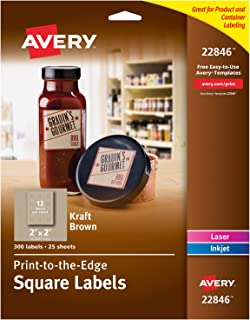 avery square label template