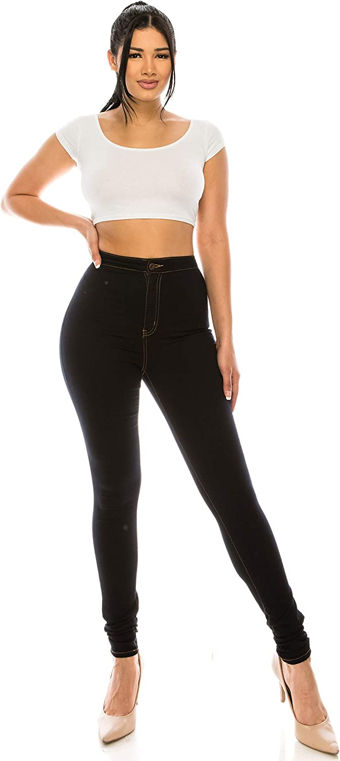 Aphrodite High Waisted Jeans for Women - High Rise Waist Basic Skinny Womens Jeans