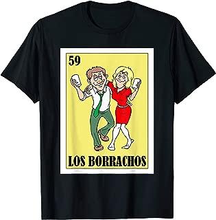 Loteria Shirts Los Borrachos - Couples Cinco de Mayo Shirt