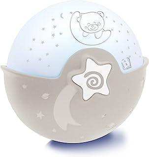Infantino Soothing Light & Projector gris - Projecto Lampe, veilleuse projecteur 3 en 1 évolutive - Détecteur des pleurs d...