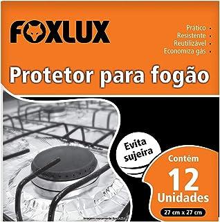 Folha De Aluminio Protetor Para Fogao 27 X 27 12 Peças