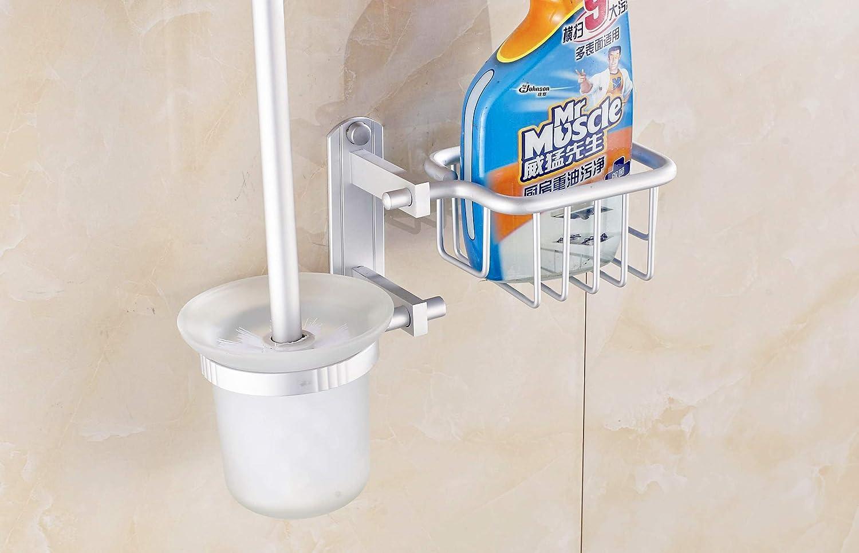QiXian Space Aluminum Toilet Toi Bathroom Set Brush Max 45% Large special price !! OFF