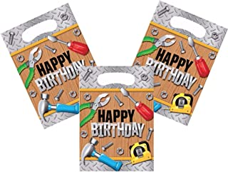 Handyman Construction Tool Theme Party Treat Bags 24 Guests
