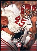 Best Football NFL 2012 Upper Deck University of Alabama #36 Steve Whitman Review