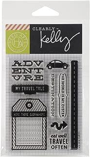 Hero Arts Kelly's Destination Stamp Set, Clear