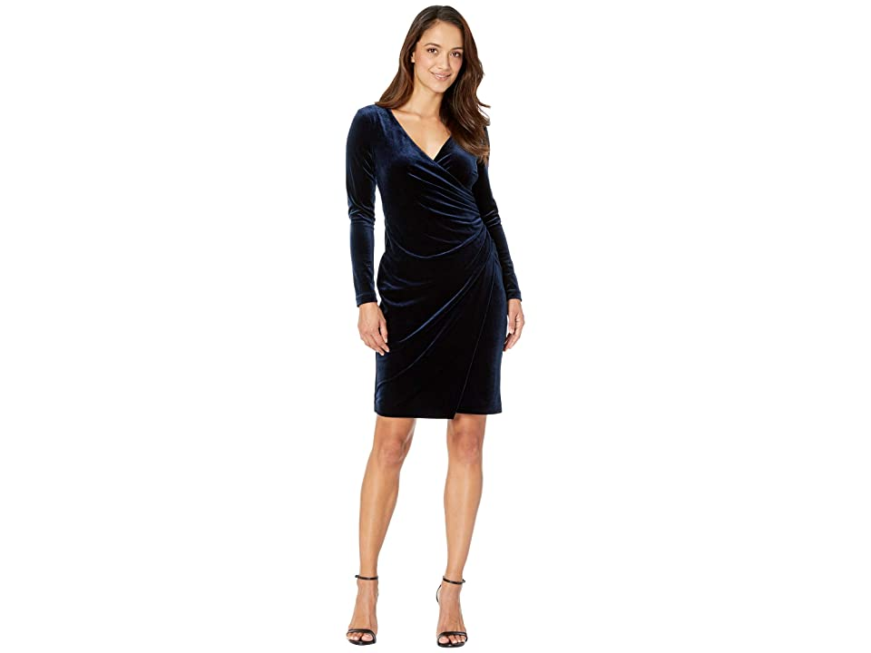 LAUREN Ralph Lauren Petite Torelana Dress (Nightfall) Women