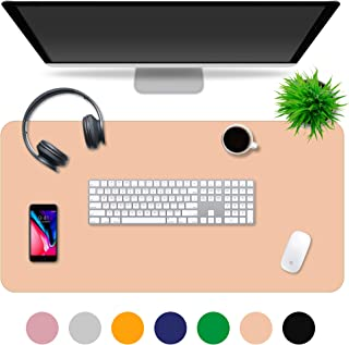 Multipurpose Office Desk Pad and Computer Desk Mat - Waterproof Office Desk Mat and Desk Blotter Pad - Home Office Accessories (35.5