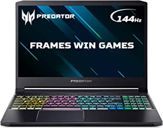 Acer Predator Triton 300 PT315-52 15.6 inch Gaming Laptop (Intel Core i7-10750H, 8GB RAM, 512GB SSD, NVIDIA GTX 1660Ti, Fu...