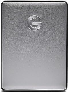 G-Technology ポータブルHDD 5TB スぺースグレイ G-DRIVE Mobile USB-C 3年保証 0G10477