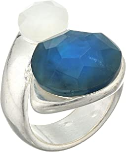 Double Stone Wrap Ring