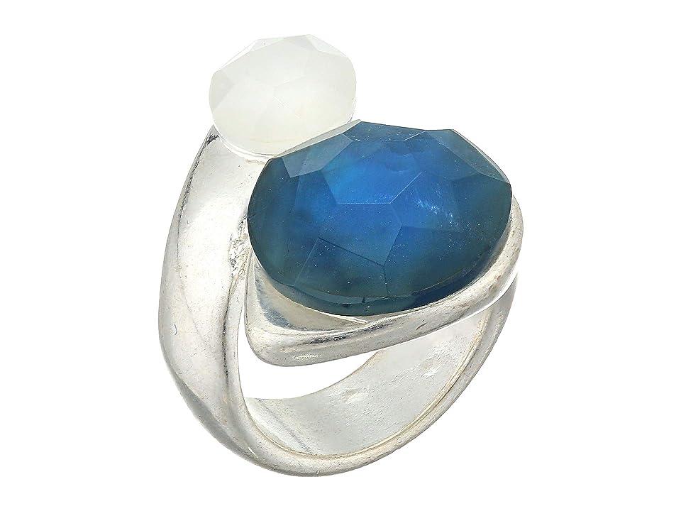 Robert Lee Morris - Robert Lee Morris Double Stone Wrap Ring