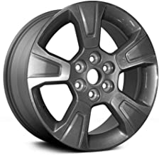 Partsynergy Replacement For OEM Take-Off Aluminum Alloy Wheel Rim 17 Inch Fits 2015-2018 Chevy Colorado 6-120mm 5 Spokes