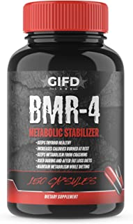 BMR-4, GIFD Labs, Fat Loss, Metabolism Booster, Thyroid Support, Weight Loss, one Month Supply, 150 caps
