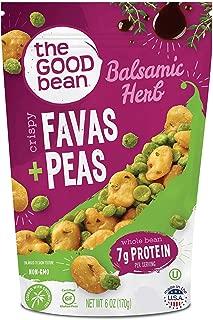 The Good Bean Crispy Favas + Peas, Balsamic Herb, Gluten-Free, 6 Count