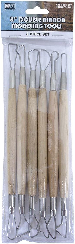 Art Advantage 8-Inch Double Ribbon Tool Set