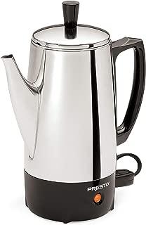 Presto 02822 6-Cup Stainless-Steel Coffee Percolator (Renewed)