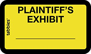 plaintiff's exhibit